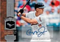 2013 Topps Series 1 Cal Ripken Jr. Chasing History Autograph Card