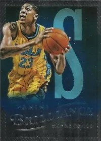 12/13 Panini Brilliance Anthony Davis Spellbound S
