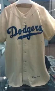 Jackie Robinson Game Used Jersey