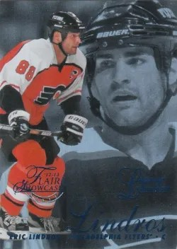 12-13 Fleer Retro Showcase #17 Eric Lindros