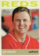2013 Topps Heritage Jay Bruce Color Sp
