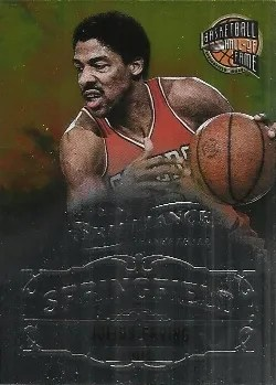 12/13 Panini Brilliance Springfield Julius Erving