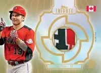 2013 WBC Tribute Prime Patch Card