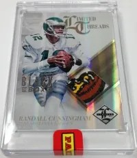 2013 Panini Limited Black Box Randall Cunningham Patch