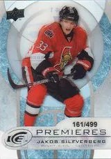 12/13 Upper Deck Black Diamond Ice Premiere #/499 Card #41 Jakob Silfverberg