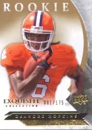 2012 Exquisite DeAndre Hopkins RC 2013