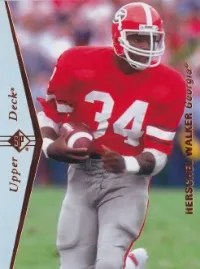 2013 Upper Deck Herschel Walker Sp