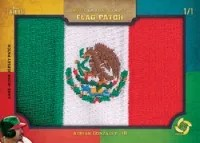2013 Tribute Flag Patch Card