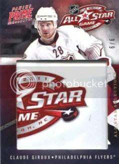 2011-12 Panini Prime All-Star Selections #29 Claude Giroux #/6