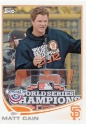 2013 Topps Opening Day #97 Matt Cain SP