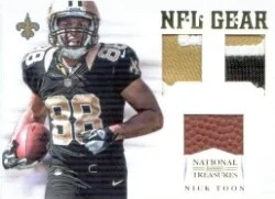 2012 National Treasures Nick Toon