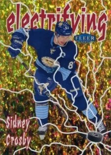 12/13 Fleer Retro Electrifying Sidney Crosby