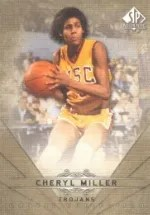 2012-13 Sp Authentic Cheryl Miller Canvas