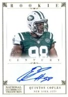 2012 National Treasures Coples RC Auto