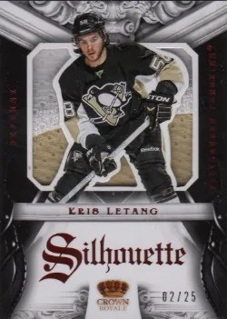 12/13 Panini Rookie Anthology Silhouettes Kris Letang