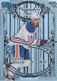 12/13 Fleer Retro Playmakers Theatre #7 of 25PT Jordan Eberle
