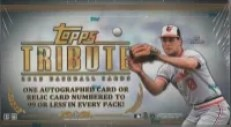 2013 Topps Tribute Hobby Box