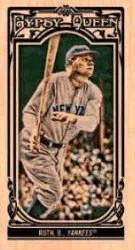 2013 Topps Gypsy Queen Babe Ruth Mini