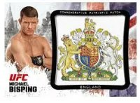 2012 Topps UFC Bloodlines Bisping