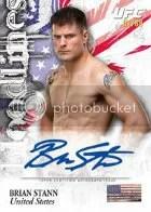 2012 Topps UFC Bloodlines Brian Stann