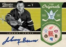 2012-13 Panini Classics Johnny Bower