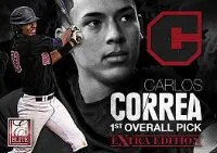 2012 Panini Elite Carlos Correa Jersey