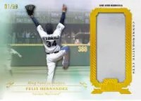 2013 Topps Tribute Commorative Cuts