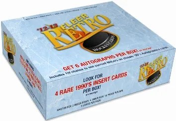 12/13 Fleer Retro Hockey Box
