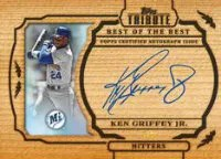 2013 Topps Tribute Ken Griffey Jr Auto