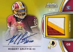 2012 Bowman Sterling Robert Griffin III