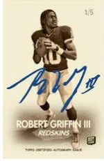2012 Topps Magic Robert Griffin III 1948 Auto