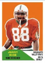 2012 Fleer Retro Football Jerry Rice