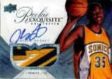 2007-08 Exquisite Kevin Durant RC