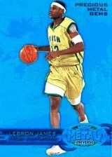 2011-12 Fleer Retro LeBron James PMG Blue