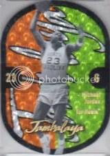 2011-12 Fleer Retro Michael Jordan Jambalaya