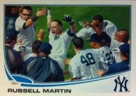 2013 Topps Russell Martin Base