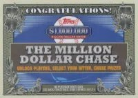 2013 Topps Million Dollar Chase