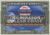 2013 Topps Million Dollar Chase