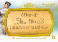 2013 Topps Tribute Stan Musial Bat Nameplate