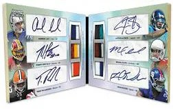 2012 Bowman Sterling Six Autograph