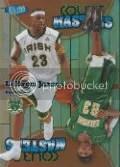 2011-12 Fleer Retro LeBron James Court Masters