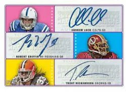 2012 Topps Magic Triple Autograph