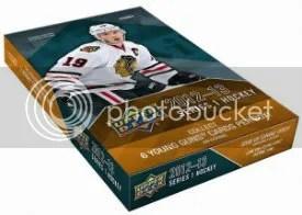 2012-13 UD Series 1 Hockey Box