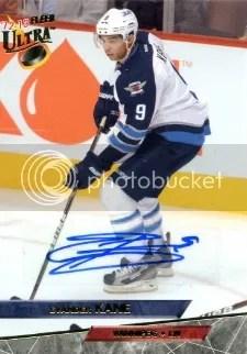 12/13 Fleer Ultra 93/94 Ultra Autograph #93-35 Evander Kane