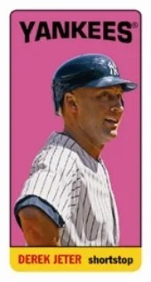 2013 Archives Derek Jeter Tall Boy