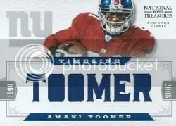2012 National Treasures Armani Toomer