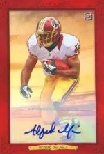 2013 Topps Turkey Red Alfred Morris Red Auto