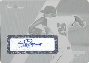 2008 Just Minors Autographs Sergio Romo Printing Plate 1/1