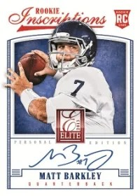 2013 Donruss Elite Rookie Auto Matt Barkley
