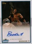 2012 Topps WWE Booker T Autograph